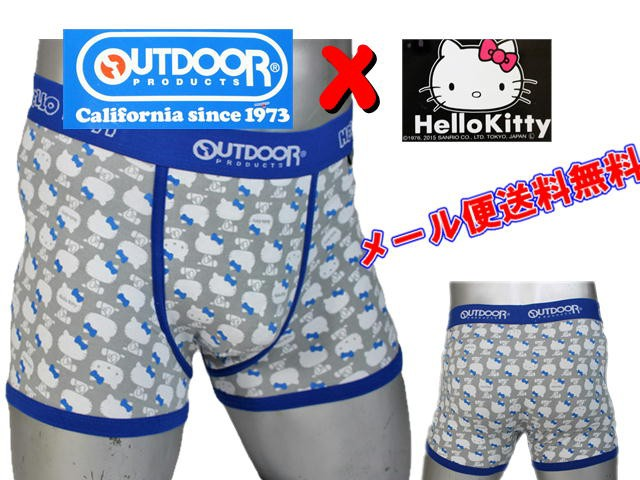 HELLO KITTY×OUTDOOR PRODUCTSコラボ ボクサーブ...