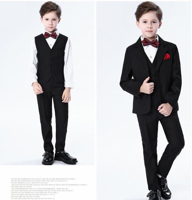 5点セット 子供スーツ 韓国 男の子 スーツ キッズ...