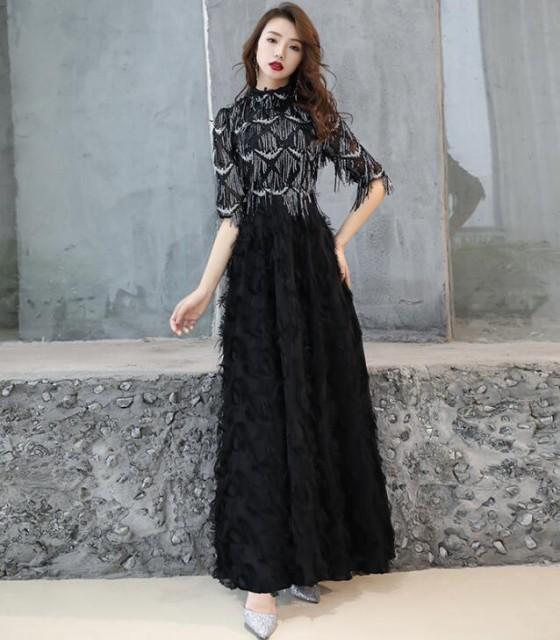 お呼ばれ 二次会Formal dress フェミニン ロング...