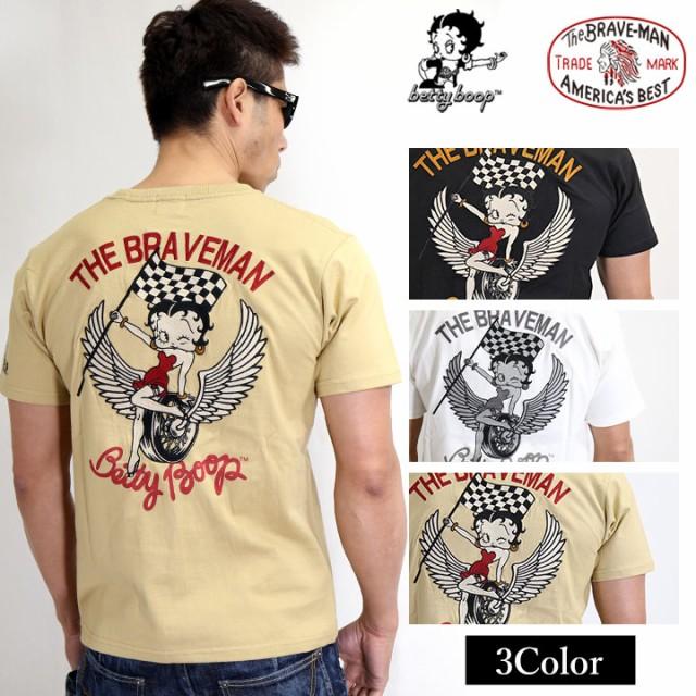 半袖Tシャツ THE BRAVEMAN×BETTY BOOP ベティ・...