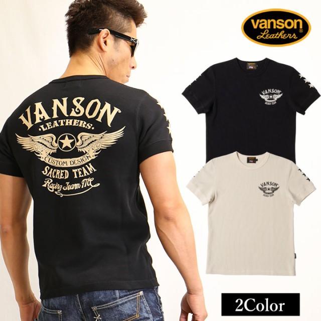 サーマル半袖Tシャツ VANSON バンソン フライング...