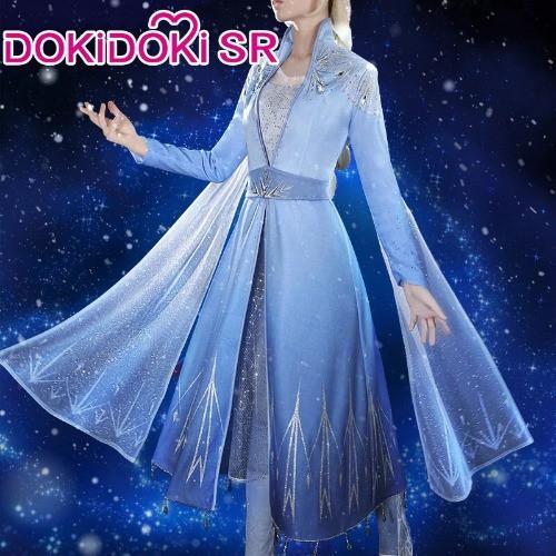 高品質 高級コスプレ衣装 ディズニー 風 アナと雪...