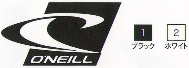 オニール(O'NEILL)SURF ICON STICKERサーフアイ...