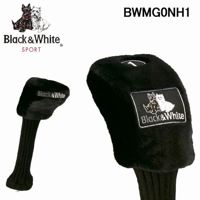ブラック&ホワイト ドライバー用 ヘッドカバー B...