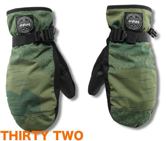 15-16 ThirtyTwo Yates Mitt Camo L/XL mitten ミ...