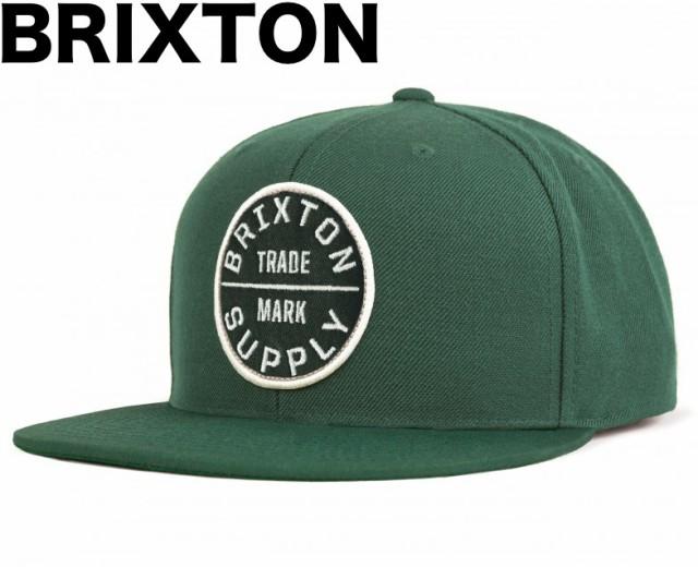 Brixton Oath III Snapback Hat Cap Sage キャッ...