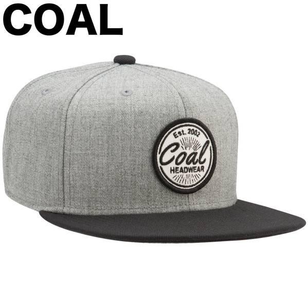 Coal The Classic Snapback Hat Cap Heather Grey...