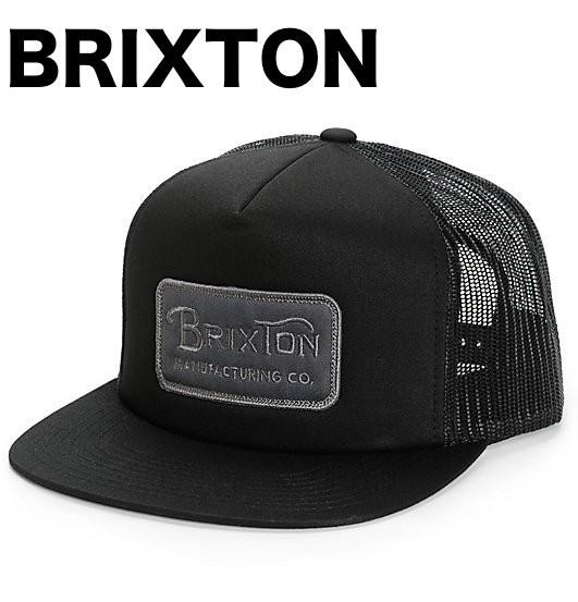 Brixton Grade Trucker Hat Cap Black キャップ ...