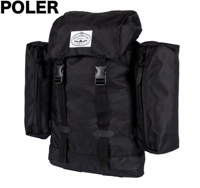 Poler Classic Rucksack Backpack Black バックパ...