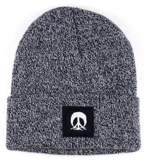 Gnarly Jersey Beanie Navy Marble ビーニー 送料...