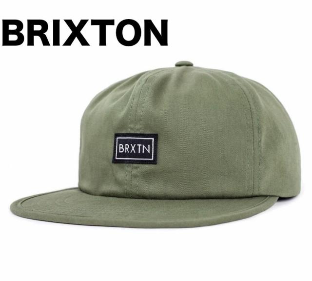 Brixton Jonas Strapback Hat Cap Army キャップ ...