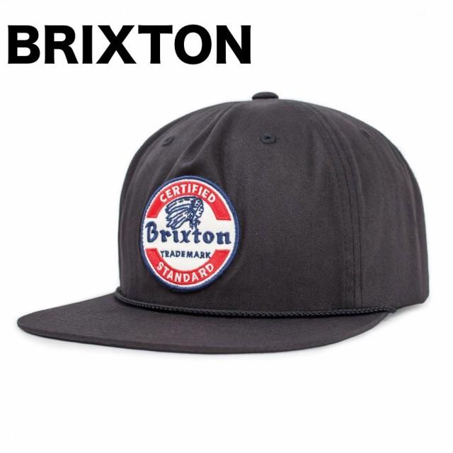 Brixton Soto Snapback Hat Cap Black キャップ ...