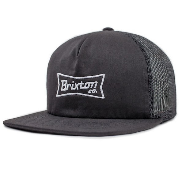 Brixton Pearson Mesh Hat Cap Black キャップ 送...