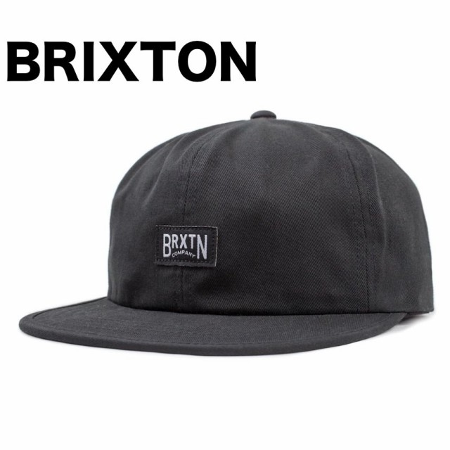 Brixton Langley Strapback Hat Cap Black キャッ...