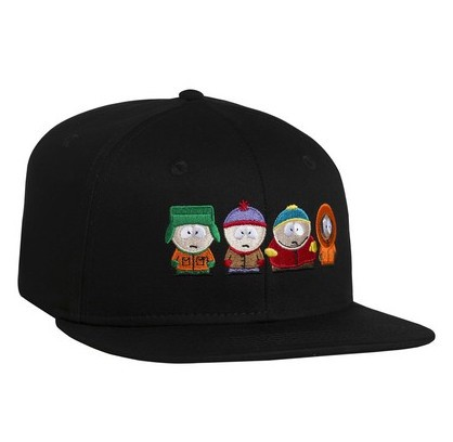 HUF X South Park SP Kids Strapback Hat Cap Bla...