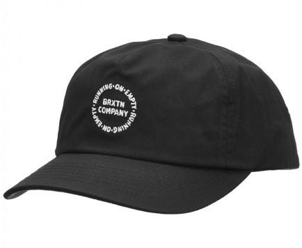 Brixton Bound Snapback Hat Cap Black キャップ ...
