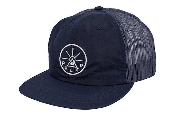 Poler Golden Circle Nylon Floppy Trucker Hat C...