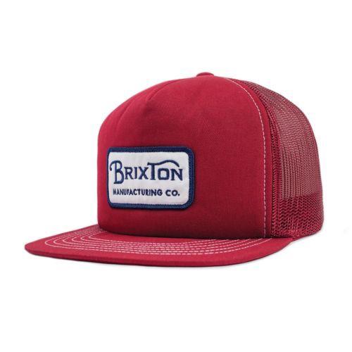 Brixton Grade Mash Hat Cap Burgundy キャップ  ...