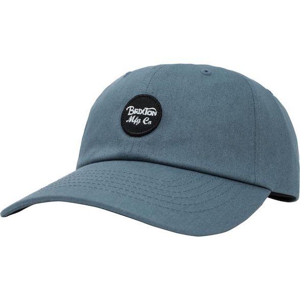 Brixton Wheeler Hat Cap Grey Blue キャップ 送...