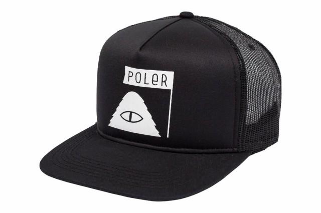 Poler Summit Mesh Trucker Hat Cap Black キャッ...