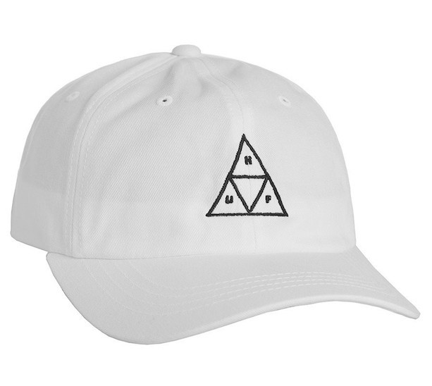 HUF Triple Triangle Curved Visor 6 Panel Hat C...