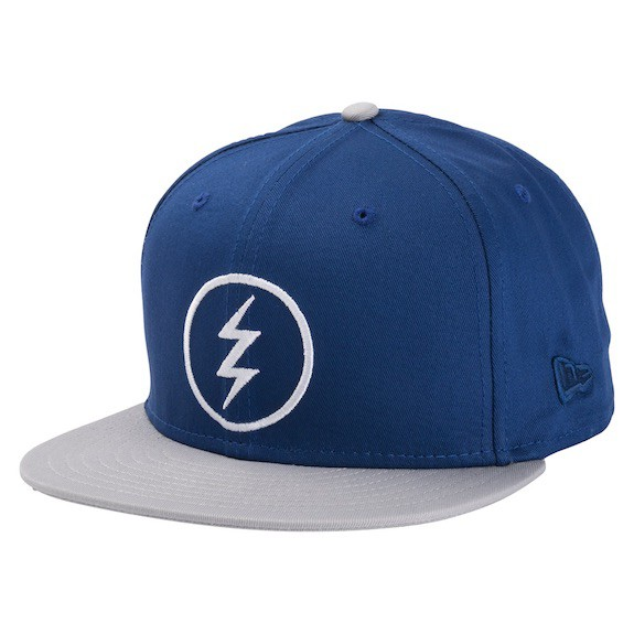 Electric Volt Snapback Hat Cap Light Royal Blu...
