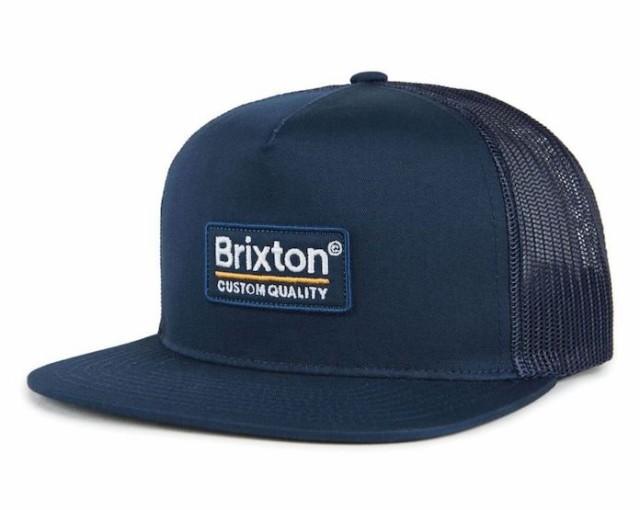 Brixton Palmer Mesh Hat Cap Navy キャップ 送料...