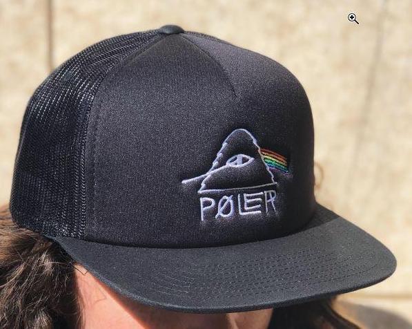 Poler Psychedelic Trucker Hat Cap Black キャッ...