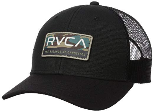 RVCA Reno Trucker Hat Cap Black キャップ 送料...