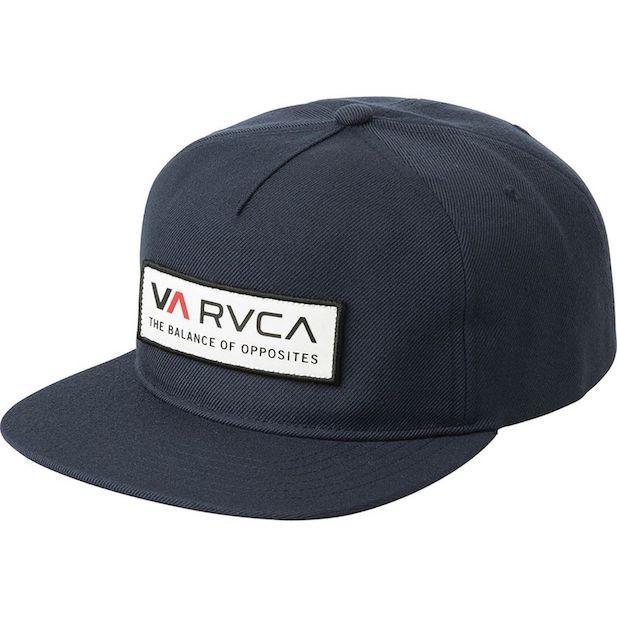 RVCA Uniform Snapback Hat Cap Navy キャップ 送...