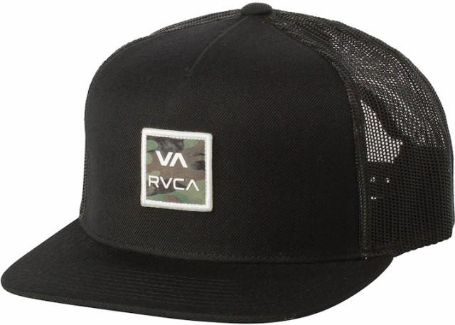 RVCA VA All The Way Printed Hat Cap Black キャ...