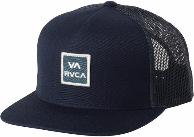 RVCA VA All The Way Printed Hat Cap Navy キャ...