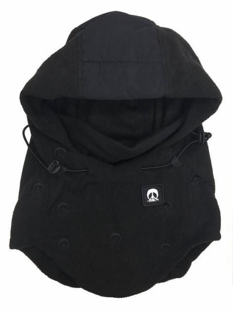 Gnarly Hood Facemask Black フェイスマスク 送料...