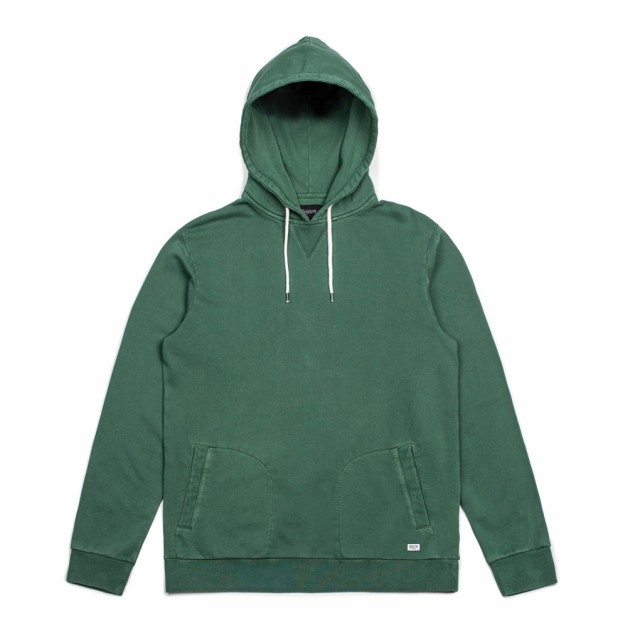 Brixton Hackney Pullover Hoodie Chive S パーカ...