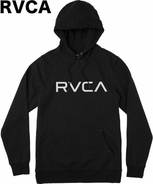RVCA Big RVCA Pullover Hoodie Black M パーカー...