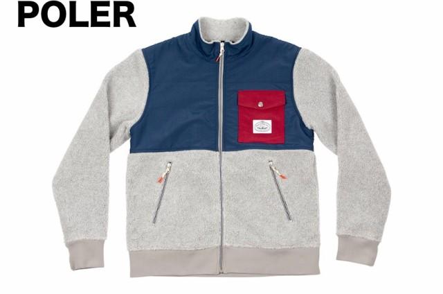 Poler Half Fleece Jacket Grey M フリース 送料...