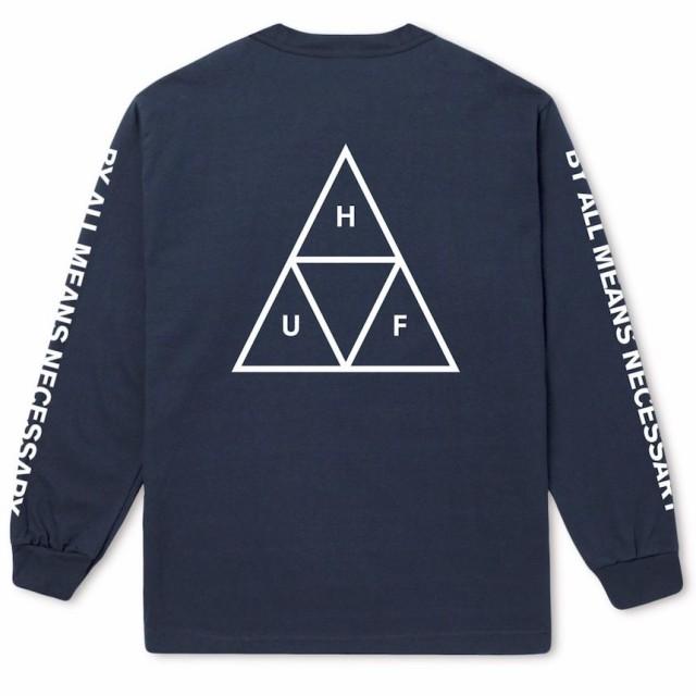 HUF Essentials Triple Triangle L/S T-Shirt Twi...