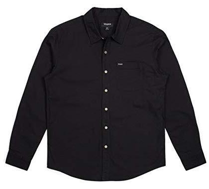 Brixton Davis L/S Woven Shirt Black S シャツ ...