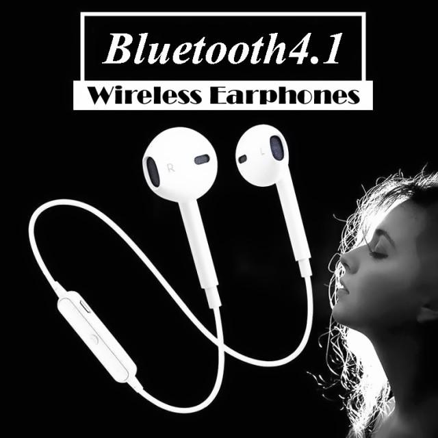 【長期保証】Bluetooht4.1 イヤホン ワイヤレス ...