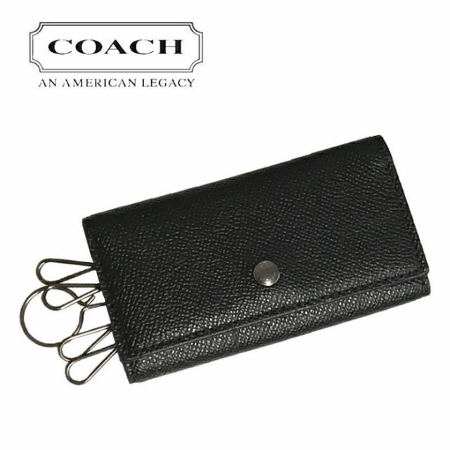 COACH コーチ メンズキーケース F26100 BLK 5連 ...