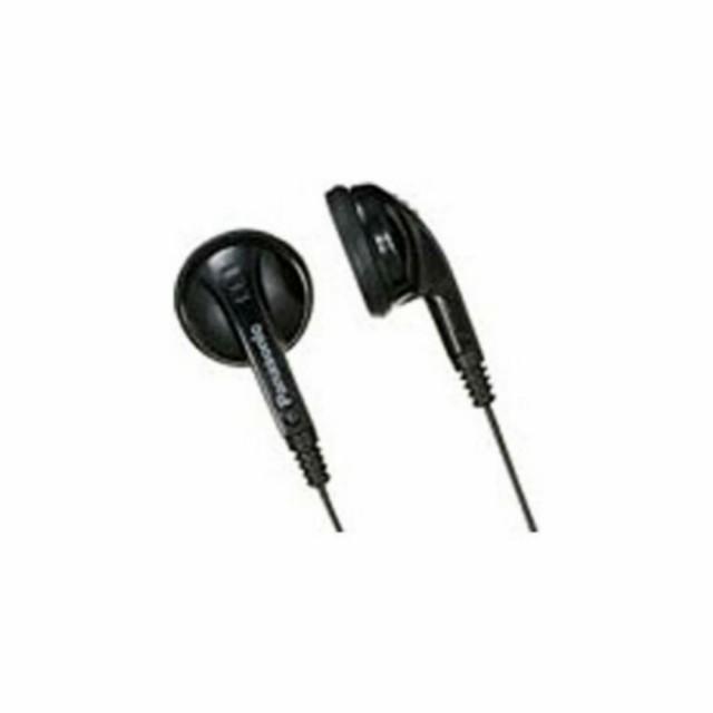 インナーイヤー型イヤホン 両耳モノラル Panasonic パナソニック インナーイヤー型 長さ1m ブラック RP-EP22 ◆メ