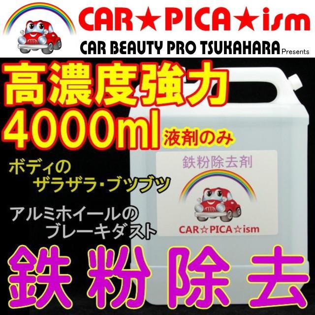 ★送料無料★ 鉄粉除去剤 4000ml 濃いから効く PR...