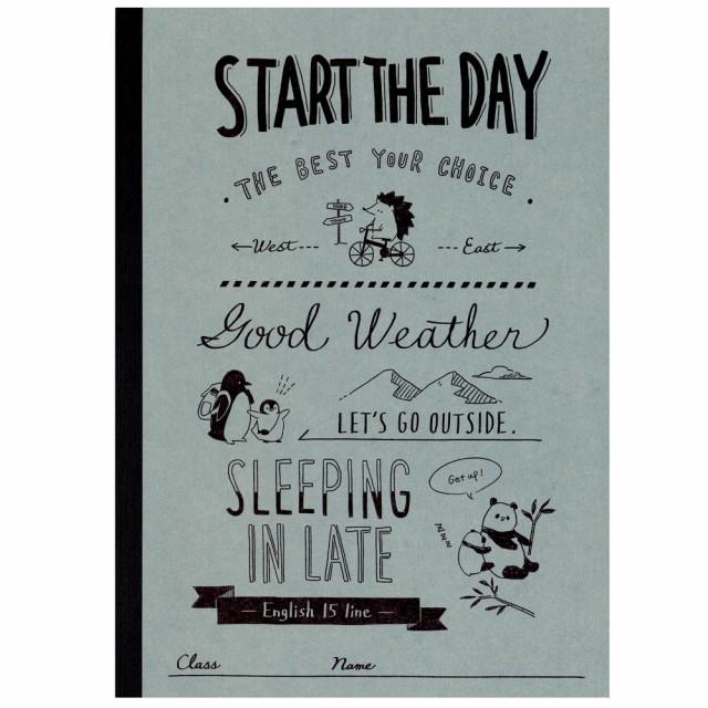 START THE DAY / B5 クラフト英習帳 15段 07129