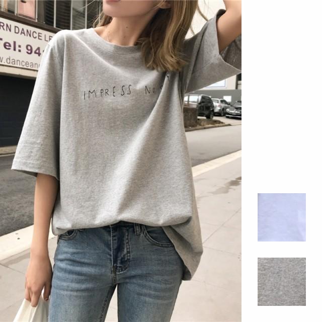 ルーズシルエットTシャツ