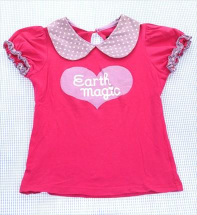 アースマジック EARTHMAGiC Tシャツ 半袖 130cm ...