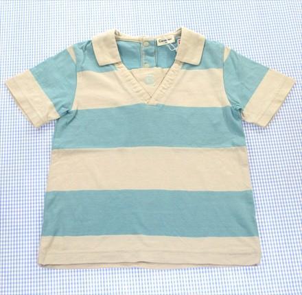 コンビ COMBI Tシャツ 半袖 100cm ベージュ/緑系 ...