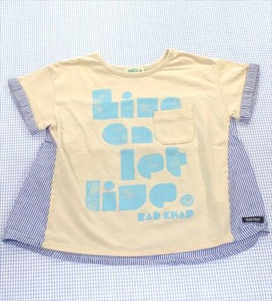 ラッドチャンプ RADCHAP Tシャツ 半袖 110cm グレ...