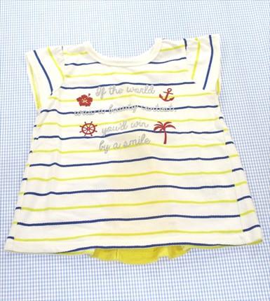 ラッドチャンプ RADCHAP Tシャツ 半袖 110cm 白系...