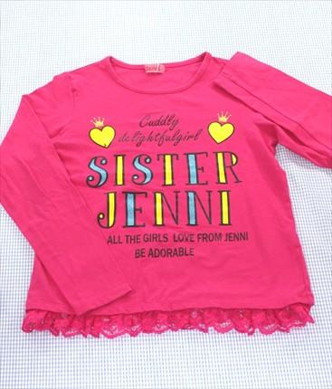 ジェニィ Jenni 長袖Tシャツ ロンt 140cm ピン...