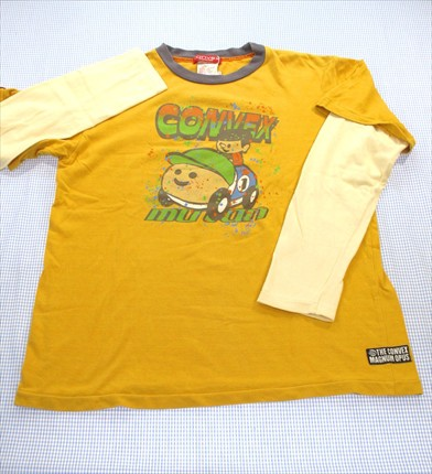 CONVEX コンベックス 長袖Tシャツ ロンt 145-15...